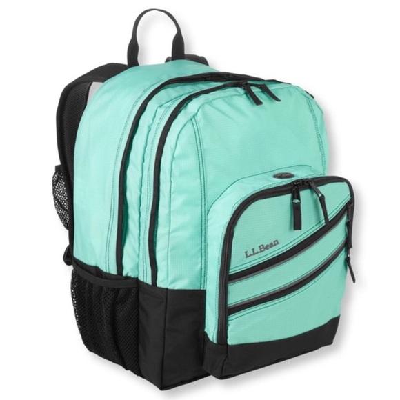 765f92982d80 L.L. Bean Handbags - LL Bean Fresh Mint Super Deluxe Backpack